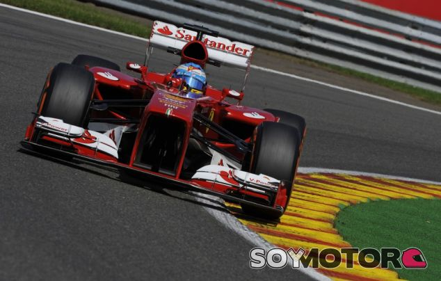 Fernando Alonso en Spa-Francorchamps
