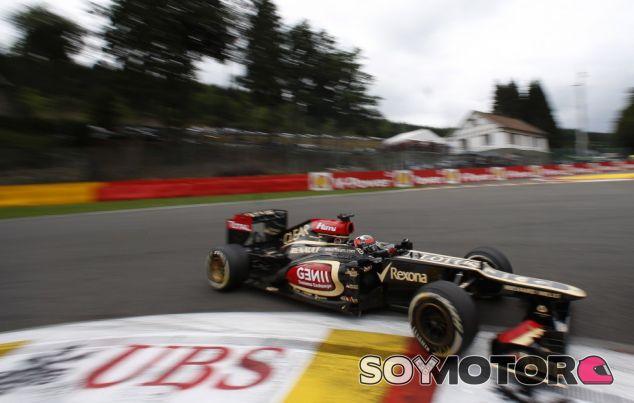 Kimi Räikkönen en La Source