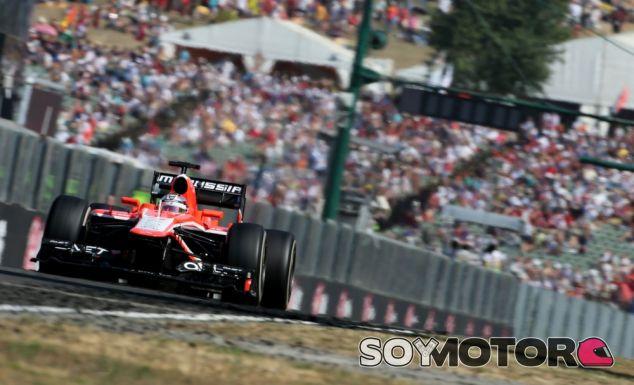 Marussia en el Gran Premio de Hungría