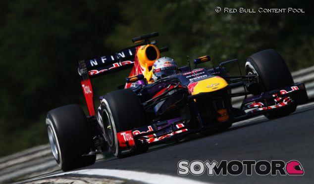Sebastian Vettel en Hungría