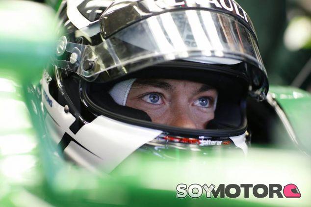 André Lotterer al volante del Caterham - LaF1