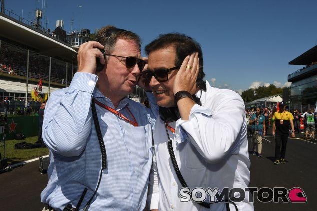 Pascal Picci (derecha) durante el GP de Italia - SoyMotor