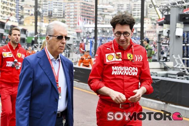 """Binotto deberá gestionar una situación """"anómala"""" con Vettel en 2020, según Piero Ferrari - SoyMotor.com"""