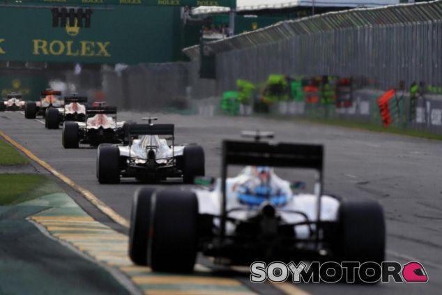 La queja de los pilotos se materializó mucho antes del GP de Australia - LaF1