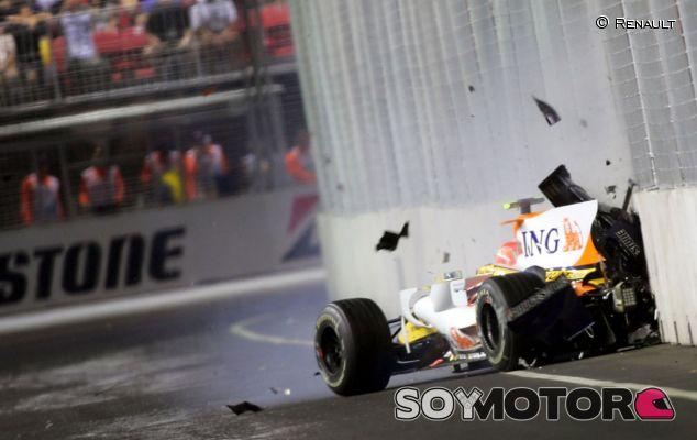 Massa no se olvida de Singapur 2008: cree que Alonso lo sabía todo