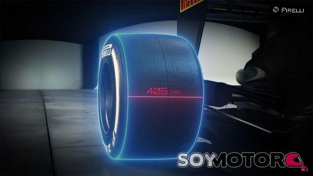Imagen digital de los neumáticos de 2017 - LaF1