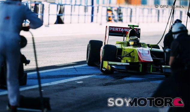 Tests de pretemporada de la GP2 en Jerez de la Frontera - LaF1