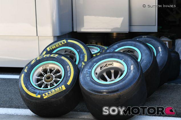 Neumáticos Pirelli, durante los tests postGP en Hungría - SoyMotor.com