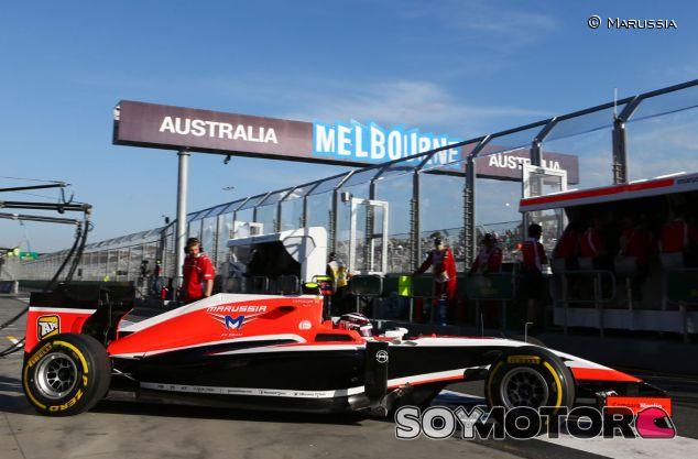 Marussia durante los libres del Gran Premio de Australia - LaF1