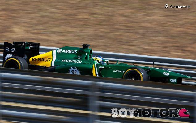 Charles Pic durante el Gran Premio de Hungría - LaF1