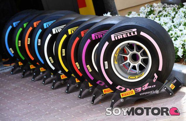 Neumáticos Pirelli 2018 en Yas Marina - SoyMotor.com