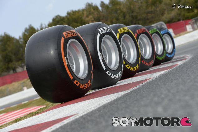 La gama de neumáticos Pirelli podría sufrir modificaciones a partir de 2017 - LaF1