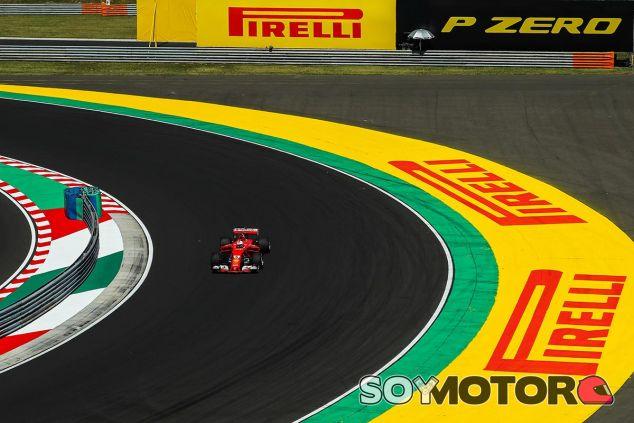 Sebastian Vettel en Hungría - SoyMotor