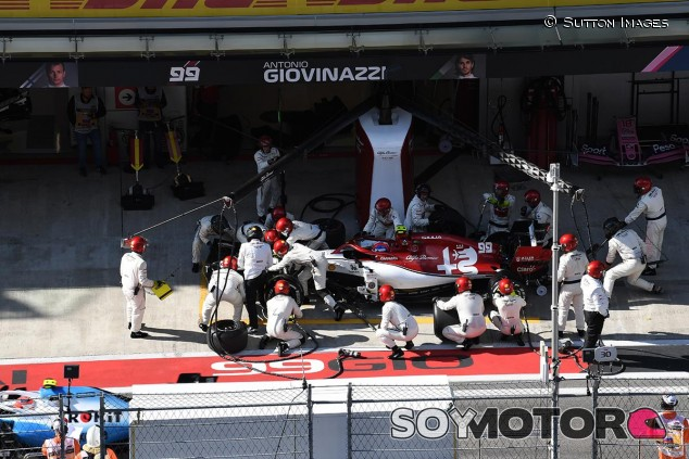 Parada en el GP de Rusia F1 2019 - SoyMotor.com