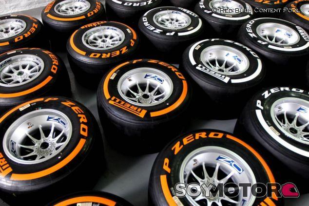 Neumáticos Pirelli duros y medios - LaF1