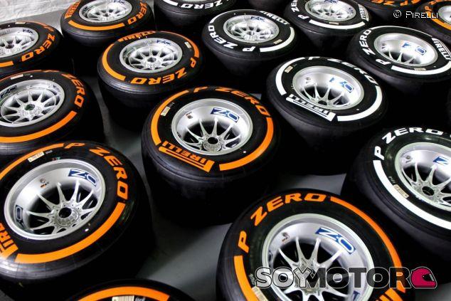 Neumáticos Pirelli duro y medio - LaF1.es