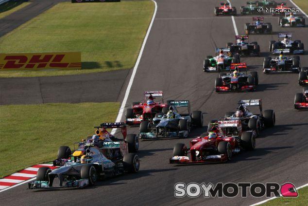 Salida del Gran Premio de Japón 2013 - LaF1