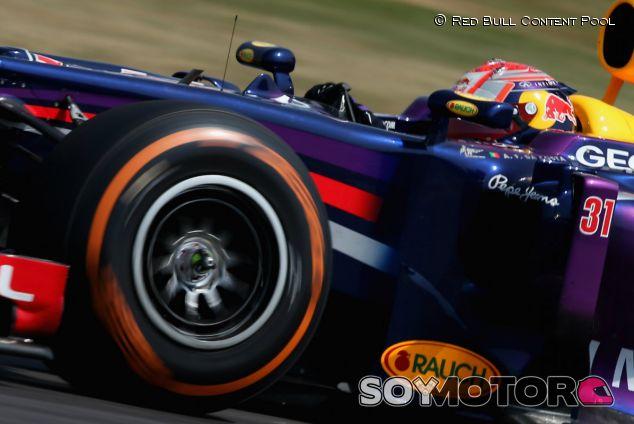Los Pirelli de 2014 son más lentos