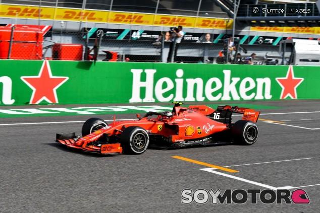 Charles Leclerc en el GP de Italia F1 2019 - SoyMotor