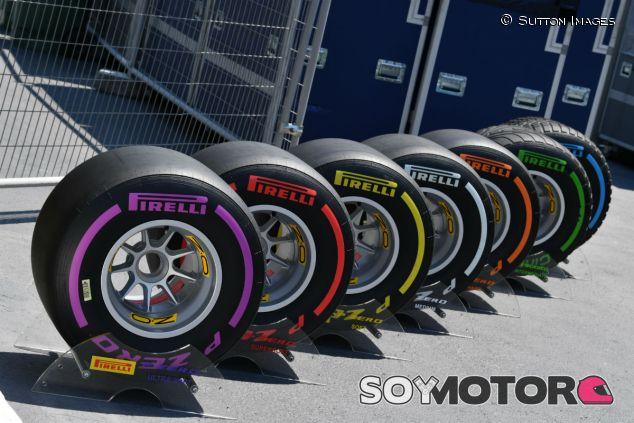 Neumáticos de 2017 durante el Gran Premio de Bakú - SoyMotor.com