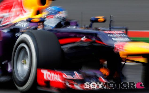 Sebastian Vettel en el GP de Bélgica F1 2013 - LaF1