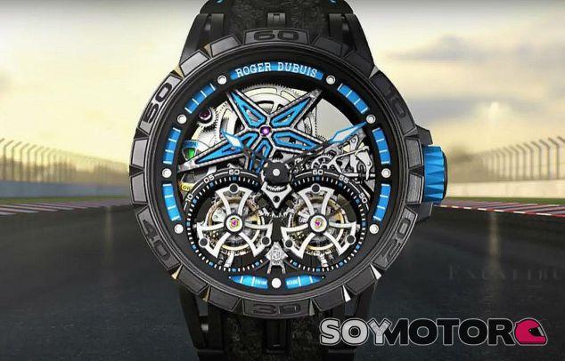 Reloj fabricado con las últimas ruedas que ganaron el GP de Mónaco - SoyMotor