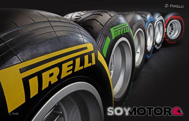Pirelli renueva tres años con la F1, hasta 2016