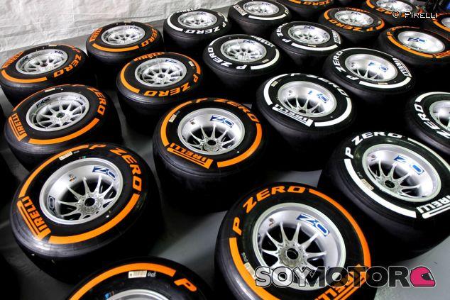 Neumáticos Pirelli - LaF1.es