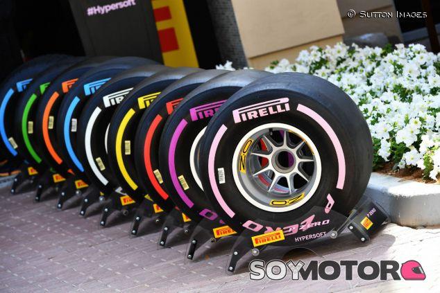 Compuestos Pirelli para la temporada 2018 - SoyMotor.com
