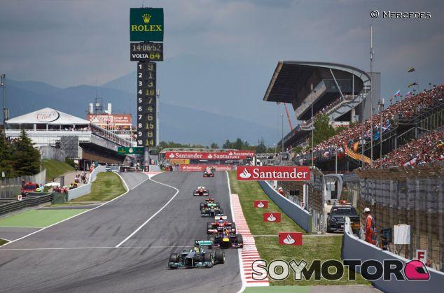 Fotografía del Gran Premio de España de 2013 - LaF1