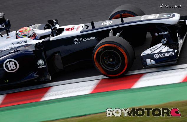 Pastor Maldonado al volante de su FW35 - LaF1