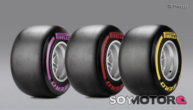 Neumáticos disponibles para el Gran Premio de Canadá - LaF1