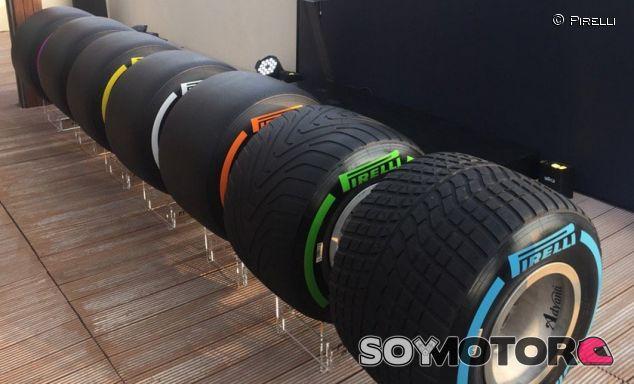 Pirelli anuncia los neumáticos para las primeras carreras de 2017 - SoyMotor.com