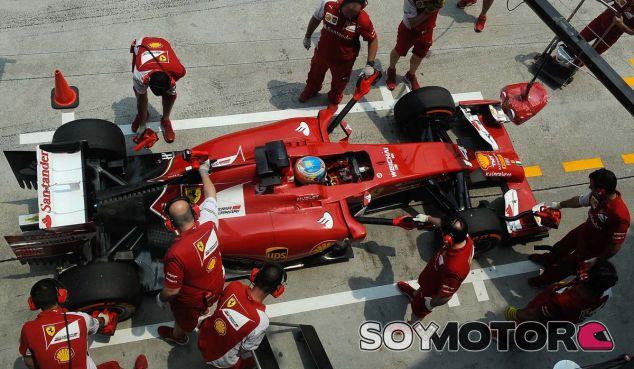 Ferrari en el GP de Malasia 2013: Viernes
