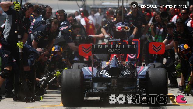 Pit stop de Sebastian Vettel en el GP de China 2013
