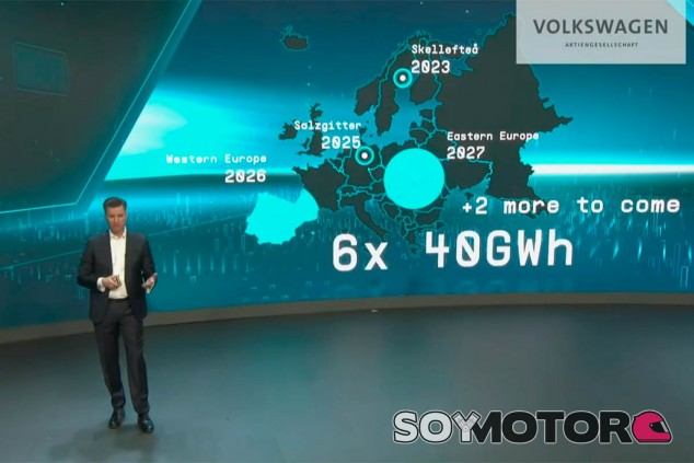 Localización de las futuras fábricas de baterías de Volkswagen - SoyMotor.com