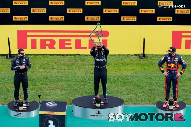 Podio del GP de Estiria F1 2020 - SoyMotor.com