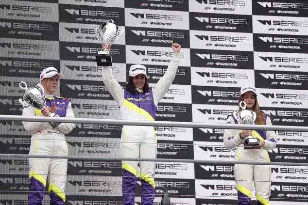 Chadwick salva la victoria de las W Series en Hockenheim, podio de García - SoyMotor.com