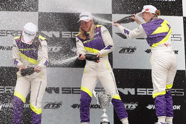 W Series: Visser tuerce a Chadwick y gana en Zolder; García, cuarta - SoyMotor.com
