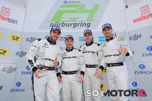 Podio del equipo HTP Mercedes en Nürburgring – SoyMotor.com