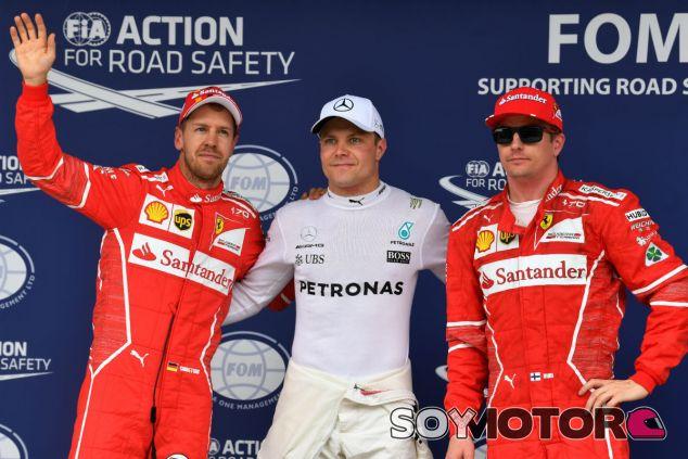 Bottas, entre Vettel y Räikkönen tras la clasificación - SoyMotor.com