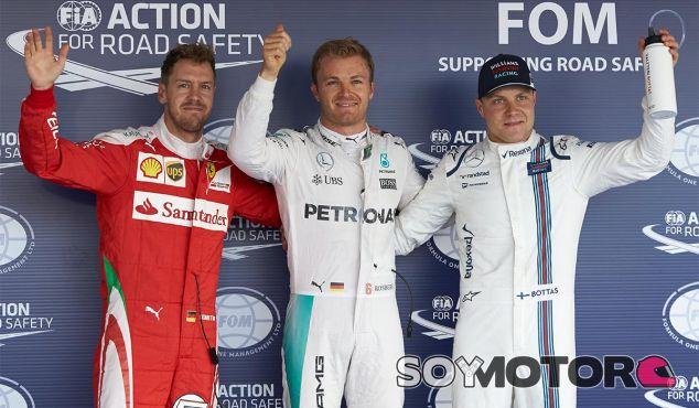 Nico Rosberg logra la Pole Position número 57 de la trayectoria deportiva de Mercedes - LaF1