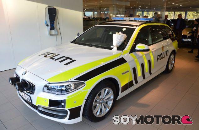 Policia Noruega - SoyMotor.com