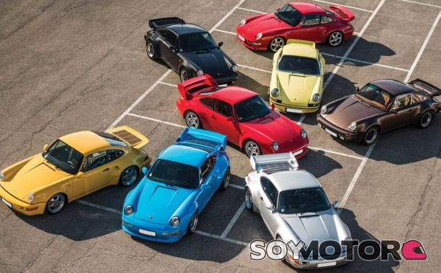Un coleccionista alemán ávido de modelos de edición limitada adquirió los ocho Porsche 911 - SoyMotor