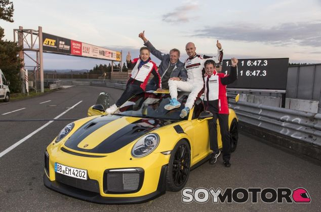 Porsche 911 GT2 RS récord - SoyMotor.com