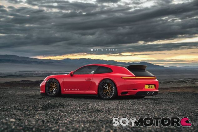 Porsche 911 Shooting Brake - SoyMotor.com