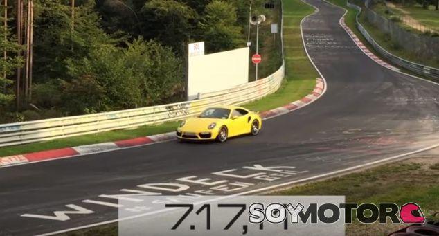 El Porsche 911 Turbo S todavía tiene margen de mejora en Nürbugring - SoyMotor