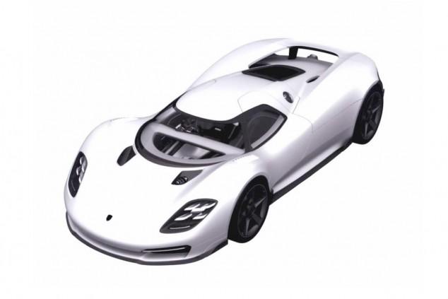 ¿Será así el hypercar inspirado en el Porsche 917?