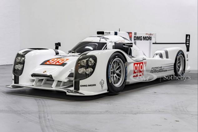 Un showcar del Porsche 919 Hybrid, a subasta - SoyMotor.com