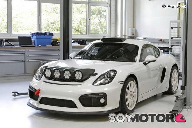 Porsche tiene casi listo un Cayman GT4 Clubsport de rallies - SoyMotor.com